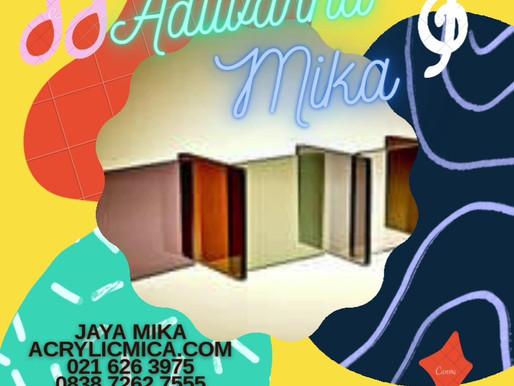 Acrylic Adiwarna Mika mempunyai warna yang menarik di antaranya warna Rayban