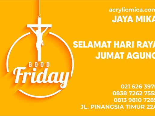 PT. Jaya Alam Persada (Jaya Mika) mengucapkan selamat hari raya Jumat Agung tanggal 2 April 2021