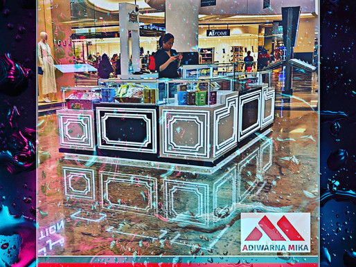 Product Exhibition From Acrylic Adiwarna Mika