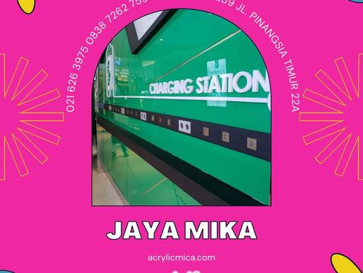 Akrilik Adiwarna Mika dapat digunakan untuk melapisi dinding sehingga dapat menjadi produk promosi