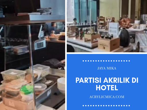 Partisi Akrilik Adiwarna Mika Untuk Restoran Di Hotel Bintang 5