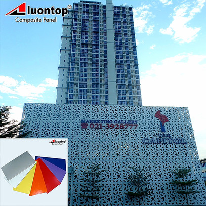 PVDF ACP Aluontop For Highress Building