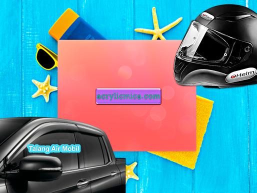 Acrylic Adiwarna Mika Can Be Used To Make Helmet Glass & Car Gutters (Door Visors)
