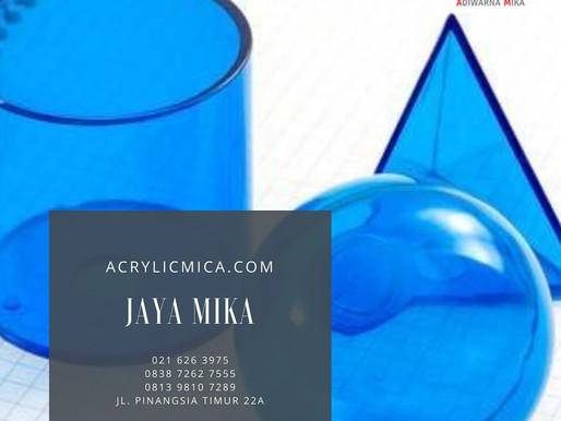 Akrilik Adiwarna Mika merupakan akrilik yang mudah dibentuk menjadi bentuk / produk yang bermanfaat