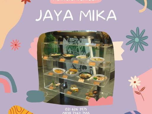 Rak makanan dari Akrilik Bening Adiwarna Mika.
