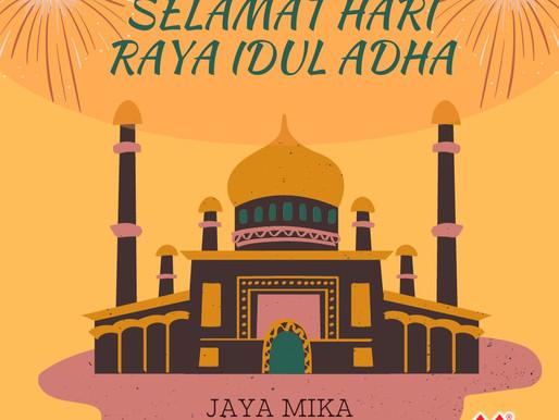 PT. Jaya Alam Persada (Jaya Mika) mengucapkan selamat Hari Raya Idul Adha 2021