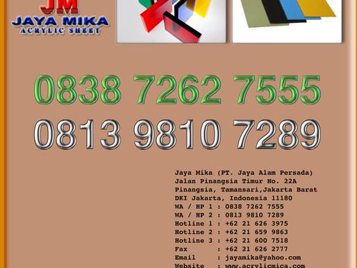 PT. Jaya Alam Persada (Jaya Mika) adalah distributor acrylic dan ACP dengan harga murah berkualitas