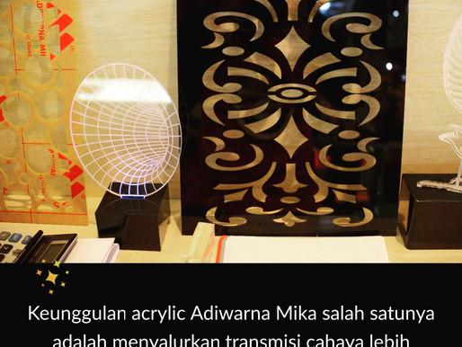 Keunggulan Pertama Acrylic Adiwarna Mika