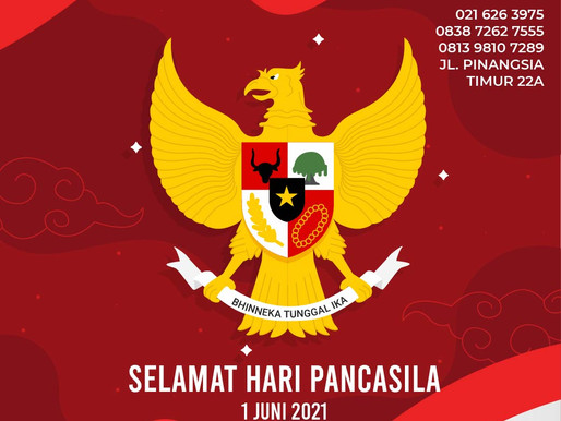 PT. Jaya Alam Persada (Jaya Mika) mengucapkan selamat Hari Lahir Pancasila tanggal 1 Juni 2021