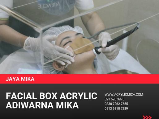 Facial Box Dari Akrilik Adiwarna Mika Untuk Klinik Kecantikan Di Indonesia