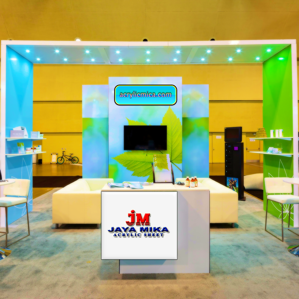 The Solution Of Acrylic Adiwarna Mika For Exhibitions Or Shows