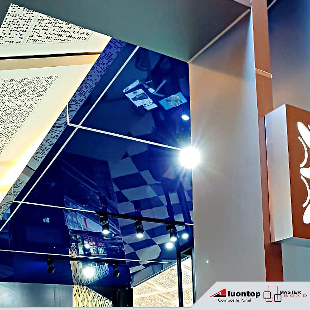 ACP Aluontop Dapat Digunakan Untuk Membuat Plafon (Ceiling) & Carport