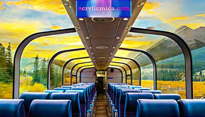Acrylic Adiwarna Mika Can Be Used To Make Glass Train