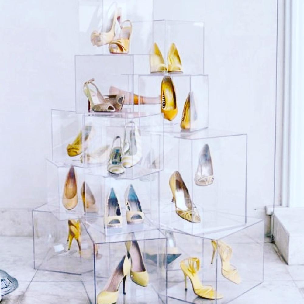 Acrylic Bening Untuk Kotak Sepatu