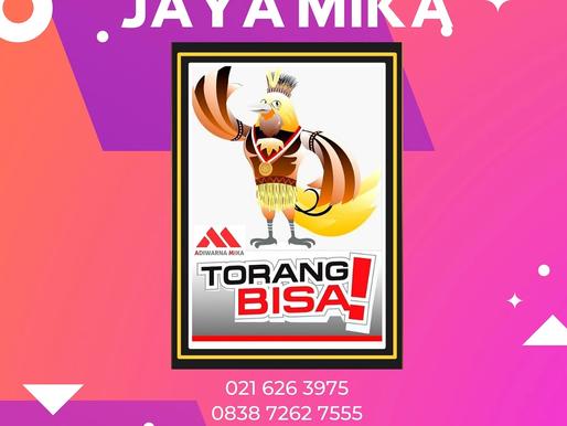 Jaya Mika mengucapkan selamat atas pembukaan PON XX di Papua tanggal 2 Oktober 2021