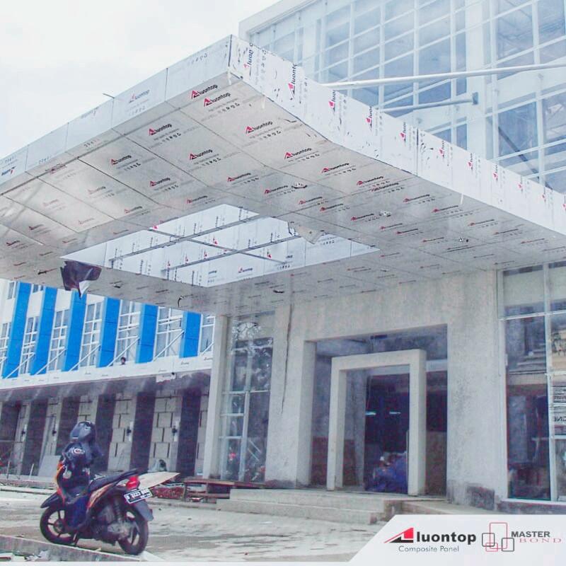 ACP Aluontop Dapat Digunakan Untuk Semua Bagian Arsitektur