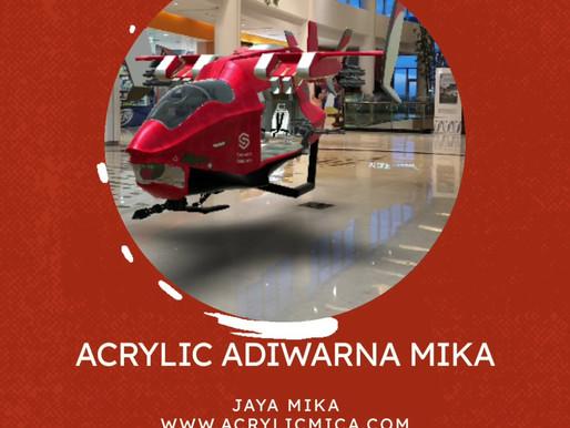 Teknologi drone dan akrilik Adiwarna Mika yang terus berkembang dan makin modern.