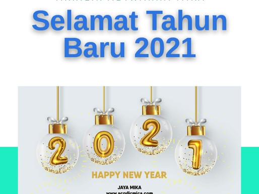 PT. Jaya Alam Persada (Jaya Mika) mengucapkan Selamat Tahun Baru 2021. Happy New Year 2021