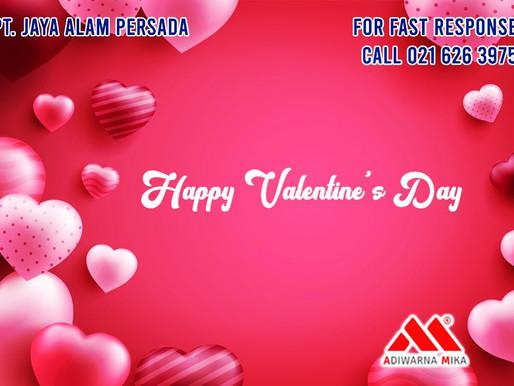 PT. Jaya Alam Persada (Jaya Mika) mengucapkan selamat Hari Valentine tanggal 14 Februari 2021