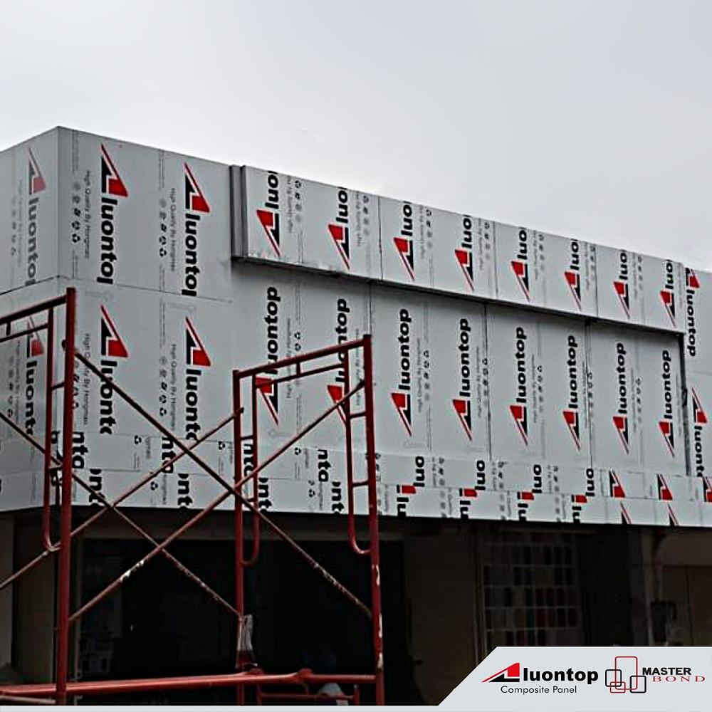 ACP Aluontop Merupakan Bahan Bangunan Modern