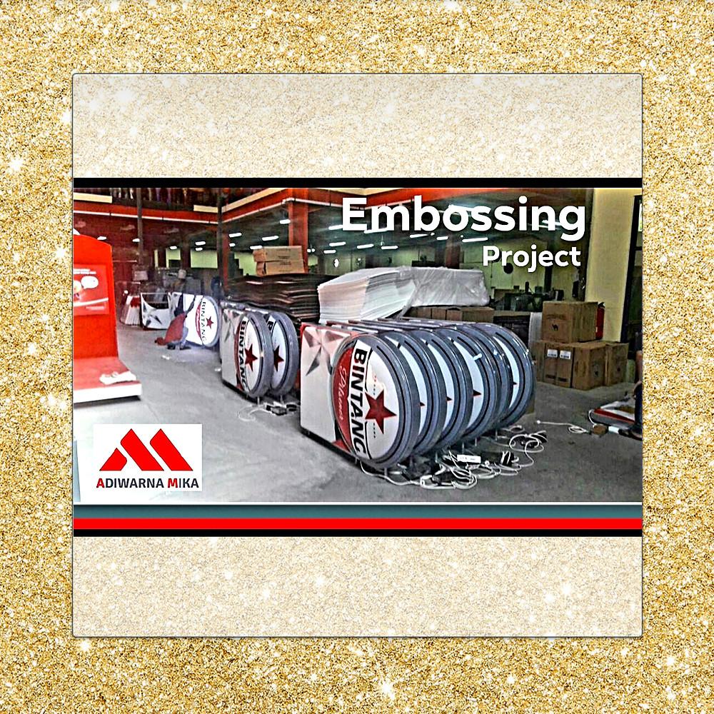 Proyek Embos Acrylic Adiwarna Mika