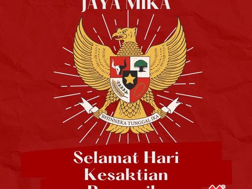 PT. Jaya Alam Persada (Jaya Mika) mengucapkan selamat Hari Kesaktian Pancasila 1 Oktober 2021