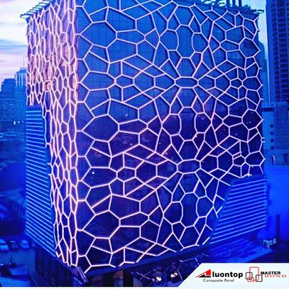 ACP Aluontop Digunakan Untuk Desain Arsitektur Modern