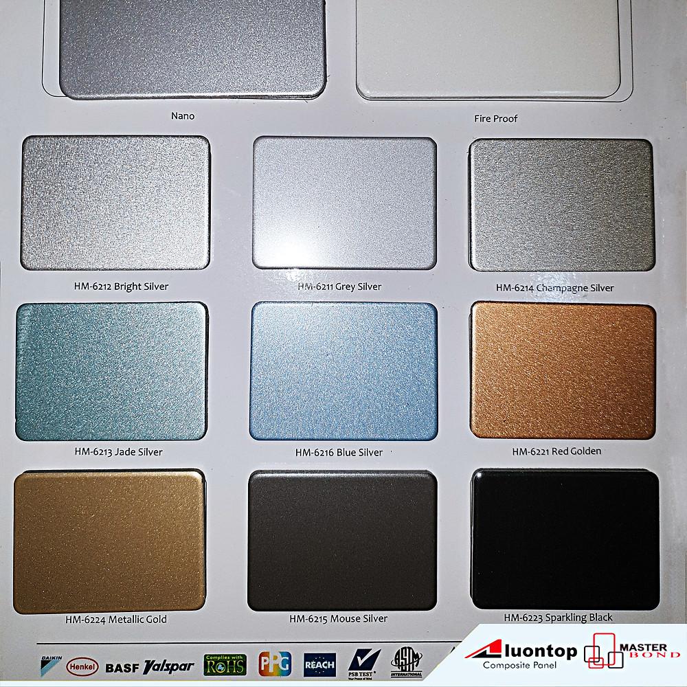 Alumunium Composite Panel Aluontop Terdiri Dari Dua Komponen Utama