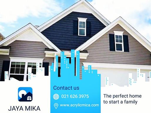 Akrilik Adiwarna Mika dan ACP Aluontop sudah mulai banyak digunakan untuk arsitektur bangunan rumah