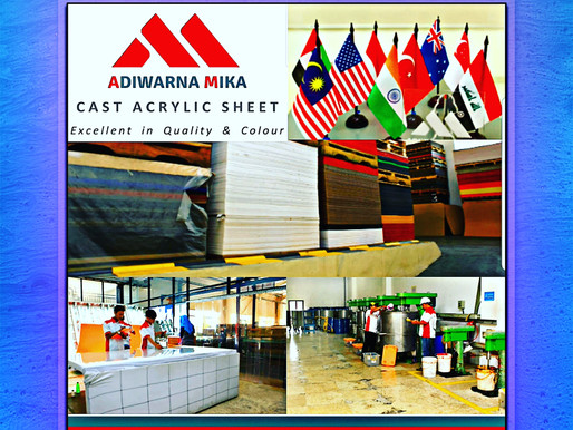 Latest Technology & Modern Acrylic Adiwarna Mika
