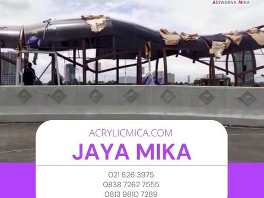 Akrilik Adiwarna Mika merupakan akrilik berkualitas terbaik dengan harga murah untuk pembangunan