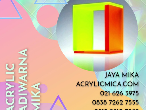 Inovasi akan terus berlanjut pada teknologi warna Fluorescent Acrylic Adiwarna Mika