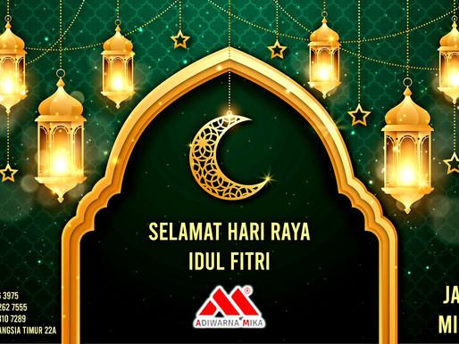 PT. Jaya Alam Persada (Jaya Mika) mengucapkan selamat Hari Raya Idul Fitri 1442H tanggal 13 Mei 2021
