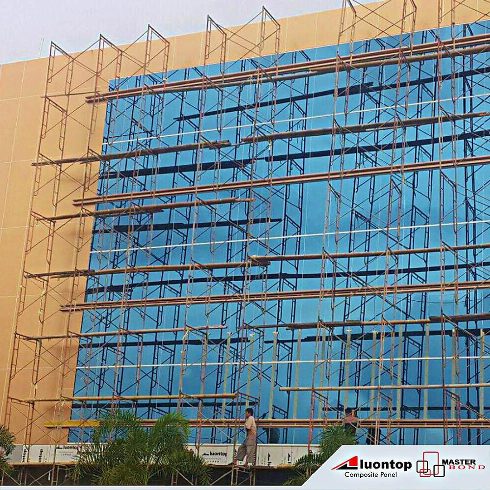 ACP Aluontop & Kaca Merupakan Bahan Bangunan Terbaik Untuk Exterior Project