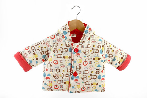 Patterned Baby Coat