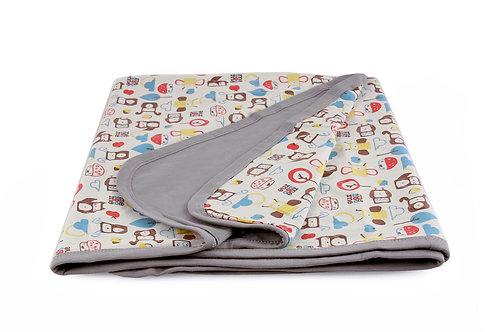 Organic Baby Summer Blanket / Stroller Blanket
