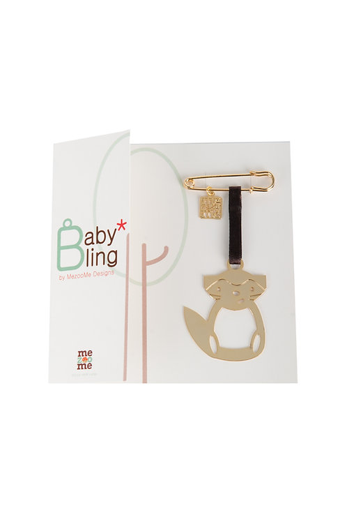 Baby Bling A-Cat - A Gold Plated Lucky Charm