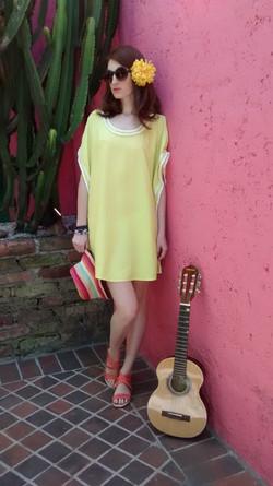Kaftan Marroco Amarelo