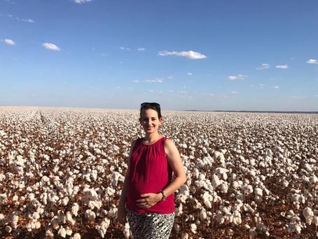 Produtora do Mato Grosso, Elaine Bottan fala da importância do algodão e do amor ao campo.