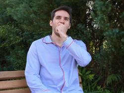 PJ Set Charles Xadrez Azul