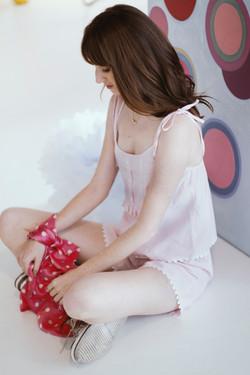Short Doll Heidi Rosa