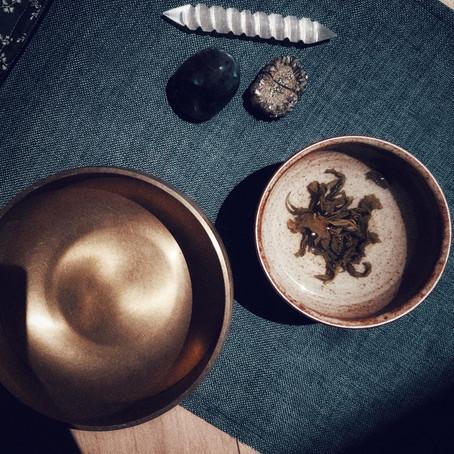 New Moon Meditation and a Bowl Tea Ceremony