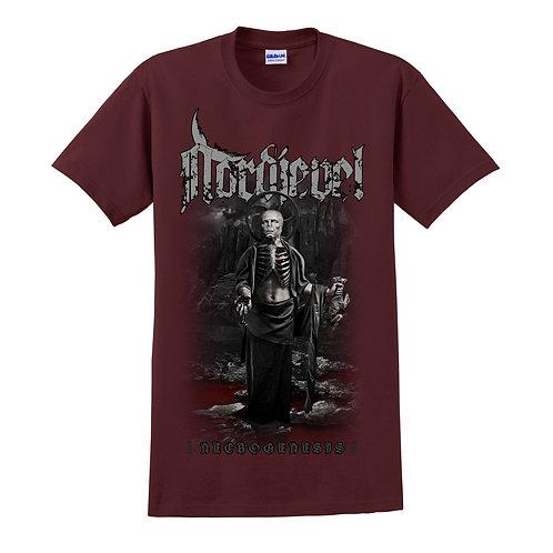 """T-shirt """"Necrogenesis"""" Red"""