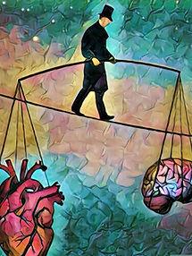 equilibrio cervello emozioni pensieri cuore