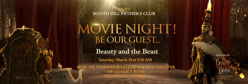 Beauty and the Beast - March 18th!