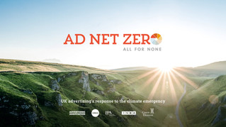 We are proud to be part of Ad Net Zero, the advertising industry's response to the climate emergency.