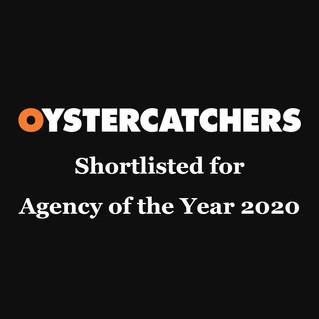 Oystercatchers Awards recognise the innovation, inspiration, talent and hard work of agencies and clients that goes in to producing effective creative work