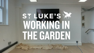 Our friends, artists Lee Baker and Catherine Borowski have drawn inspiration from the historic Covent Garden flower market to create a series of stunning office murals