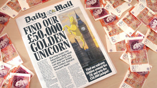 The Daily Mail - Golden Unicorn