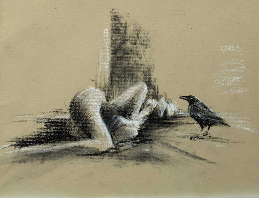 Study of E with Crow 3